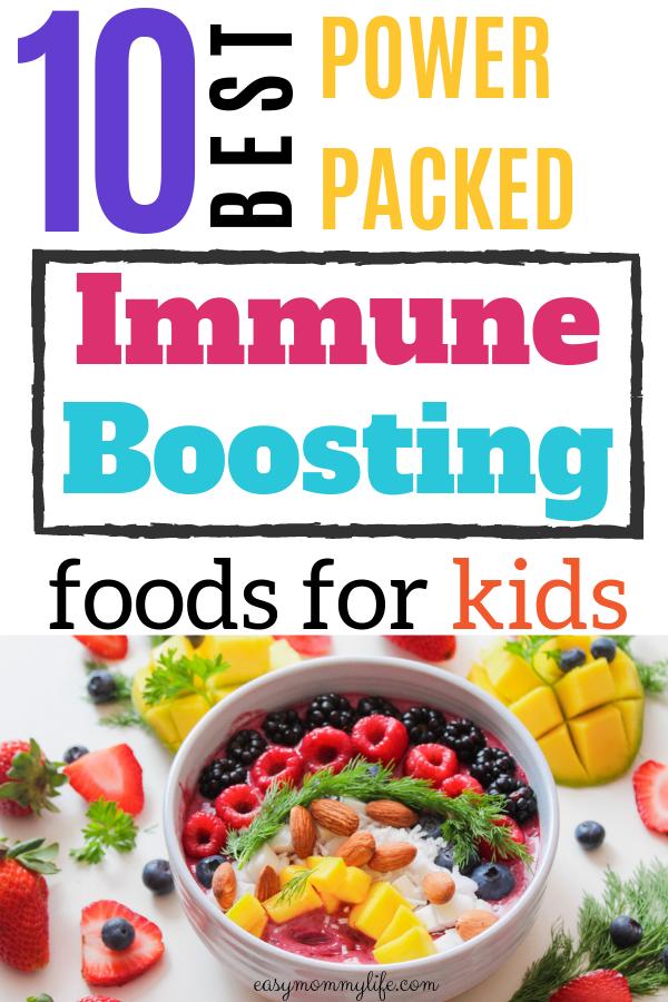 Immune Boosting Foods for Kids-bowl of healthy toddler food