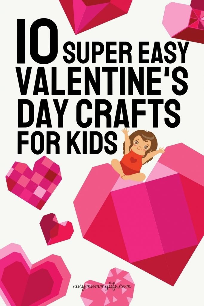 easy valentines day crafts for kids