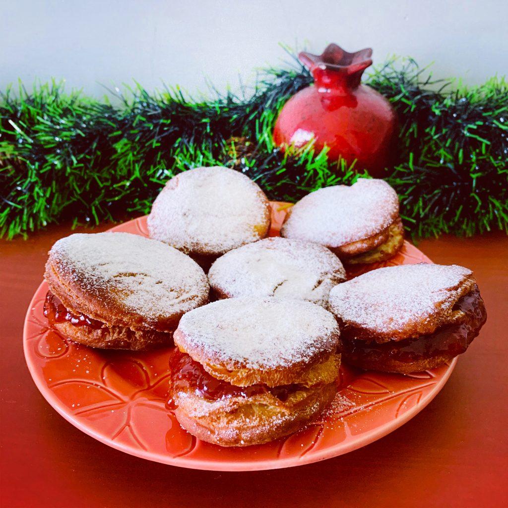 Hanukkah recipes-sufganiyot