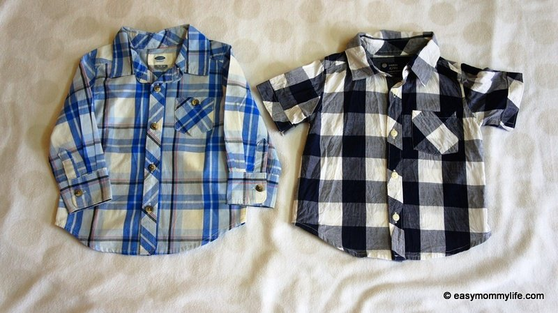 Shirts for toddlers part of capsule wardrobe