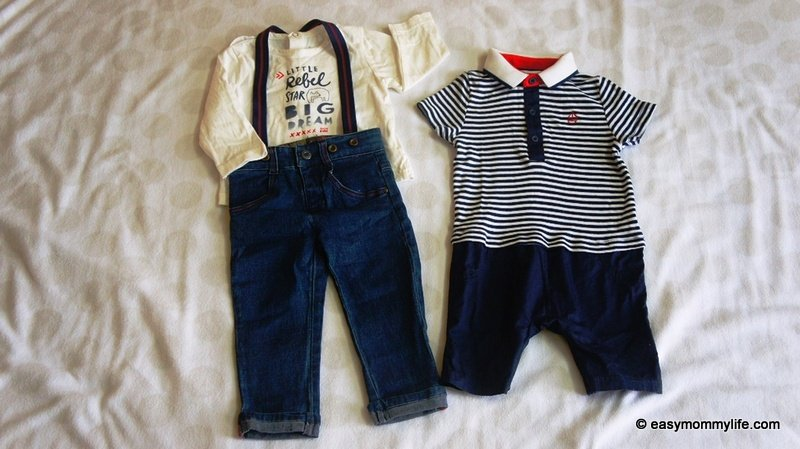 Semi Formal wear for toddlers part of Capsule wardrobe for toddlers