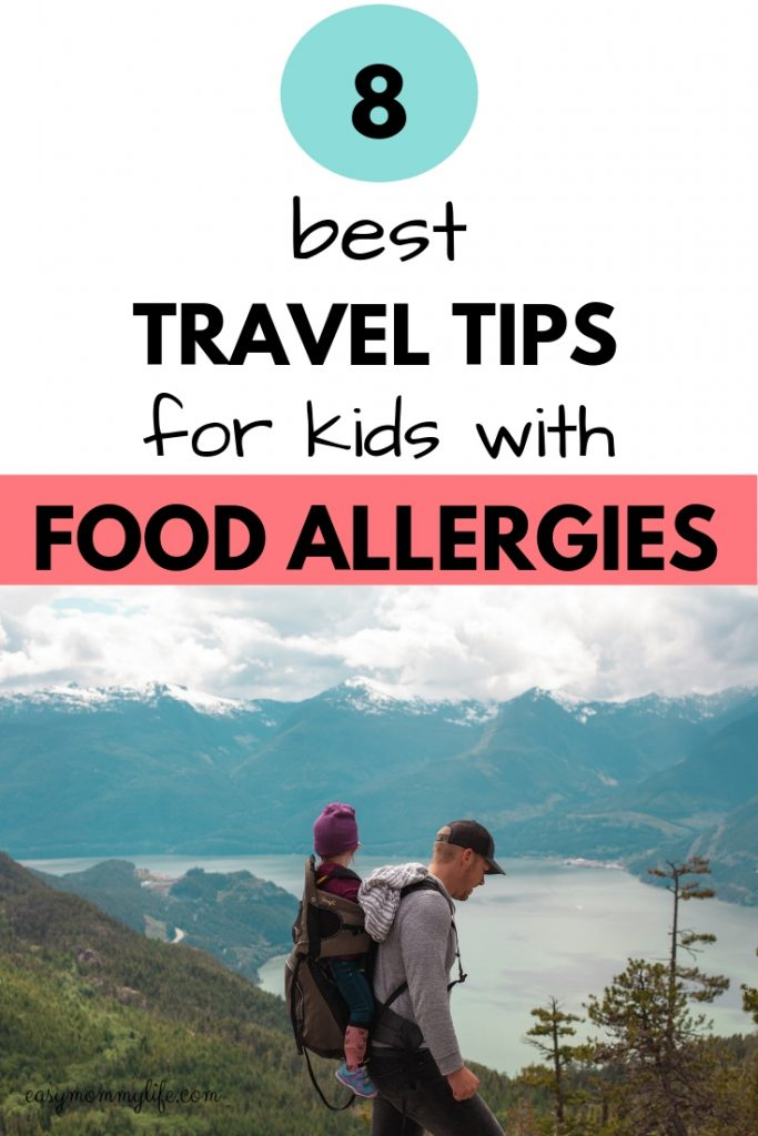 travel tips for kids with food allergies