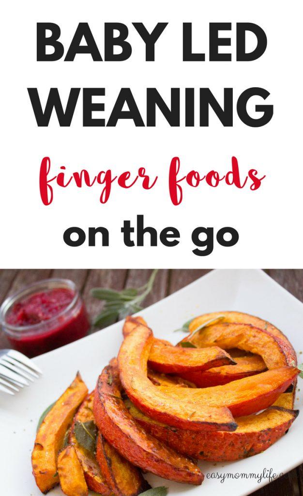 baby led weaning finger foods