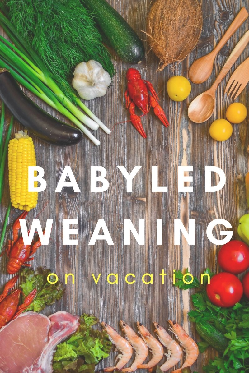 Babyled weaning on vacation- whole food
