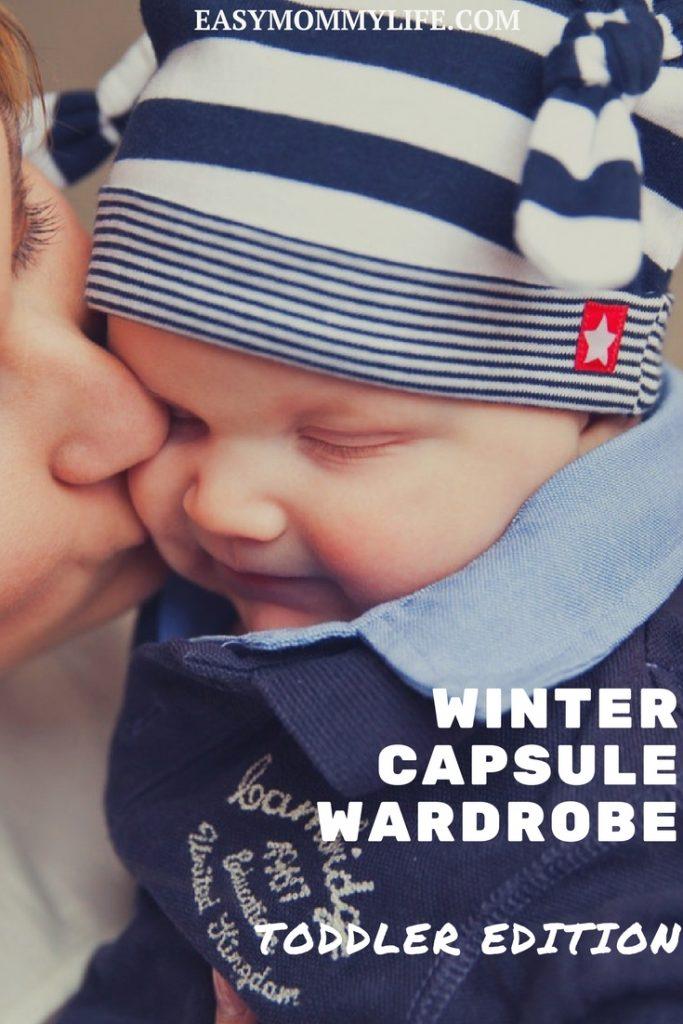 winter capsule wardrobe toddler