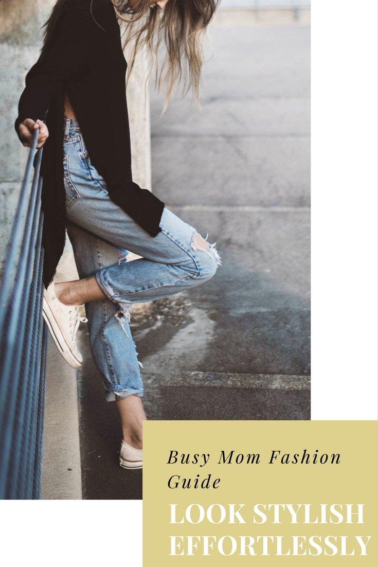 Busy Mom Fashion Tips