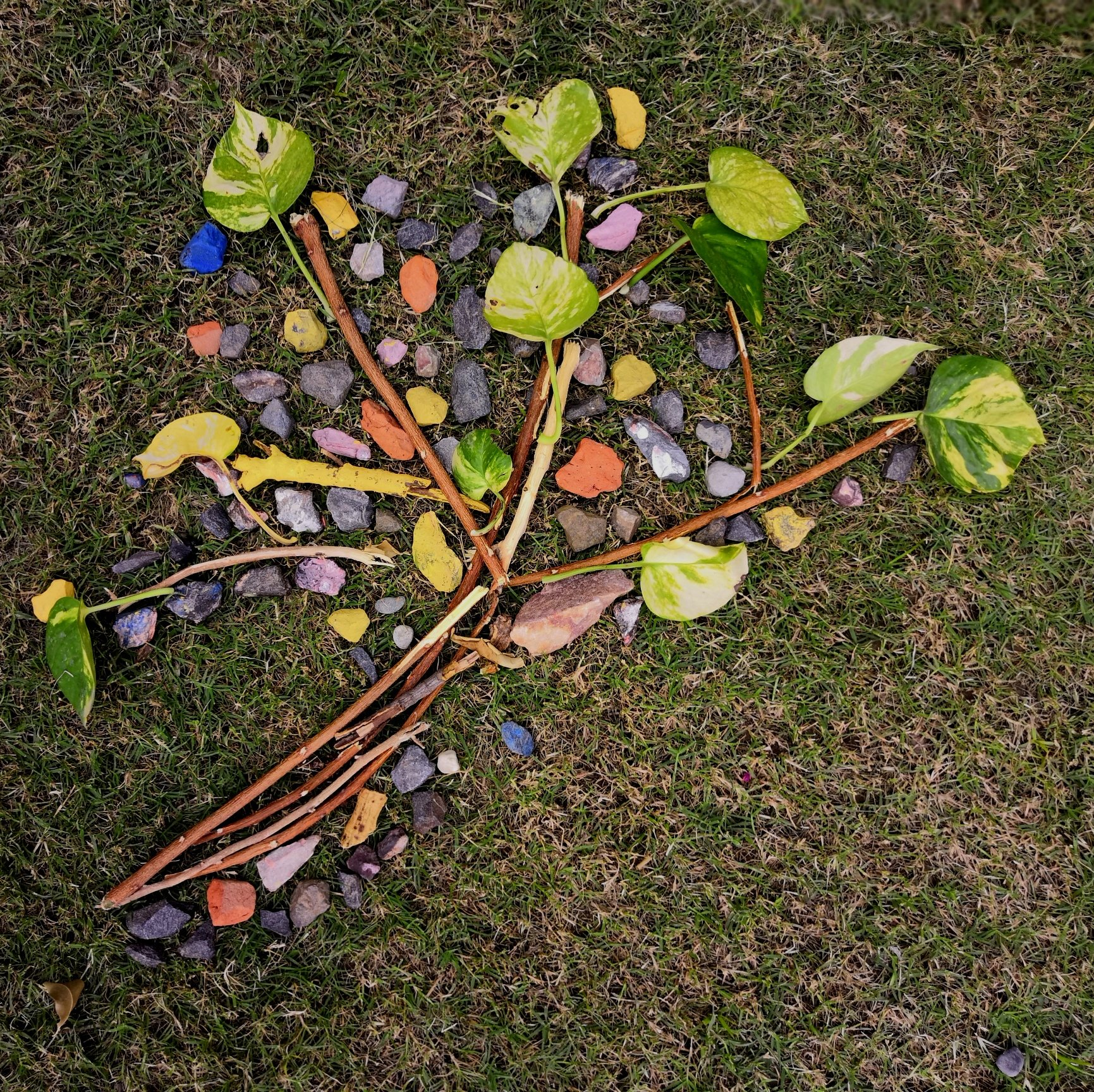 Nature's loose parts