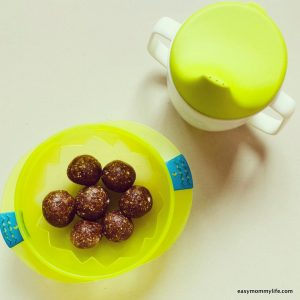 iron rich foods for toddlers- energy balls