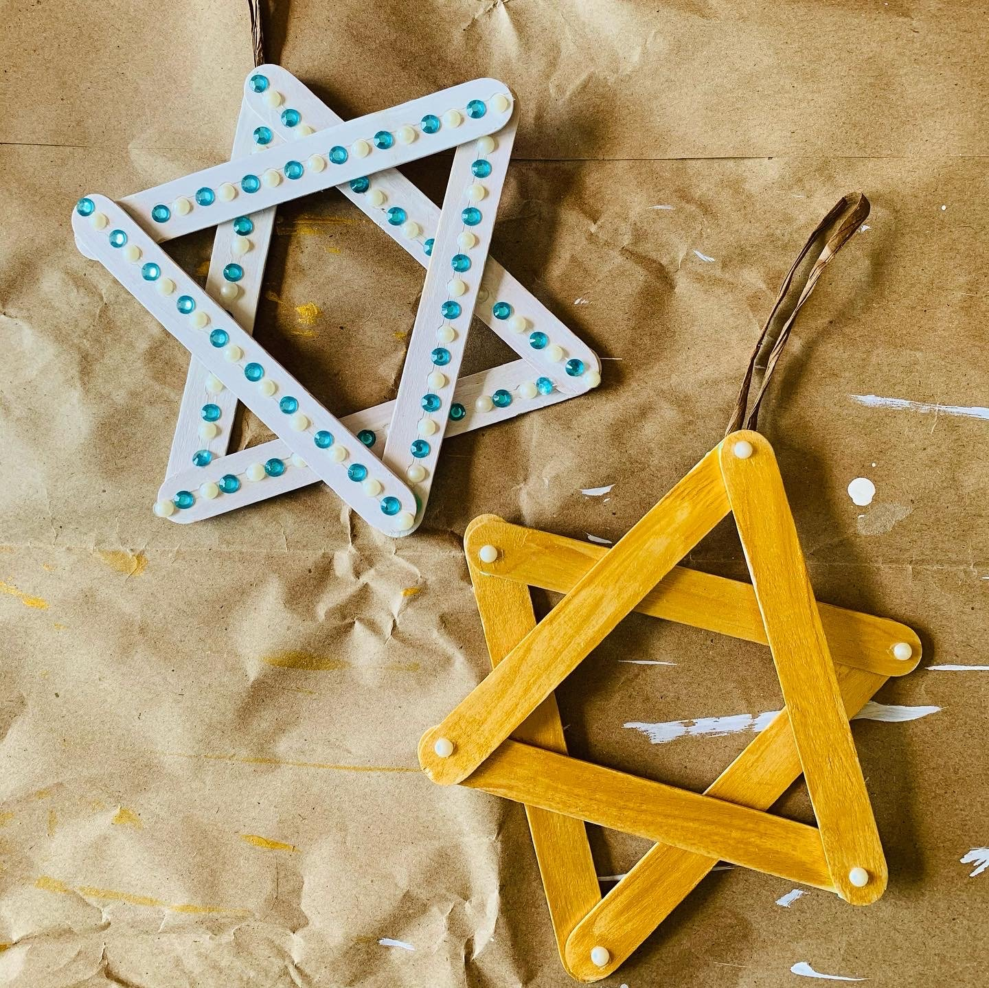 Easy Hanukkah Craft For Kids