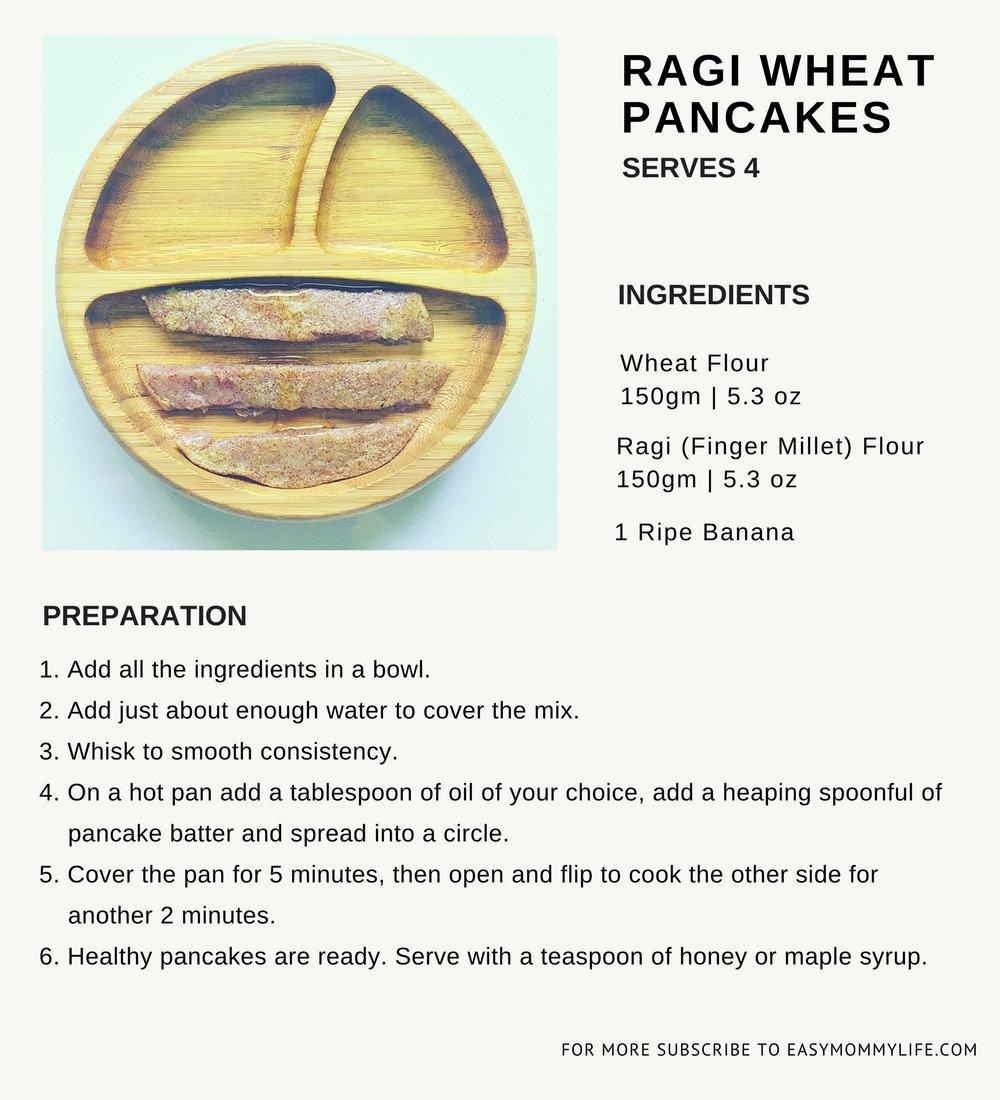 healthy pancake recipe for children