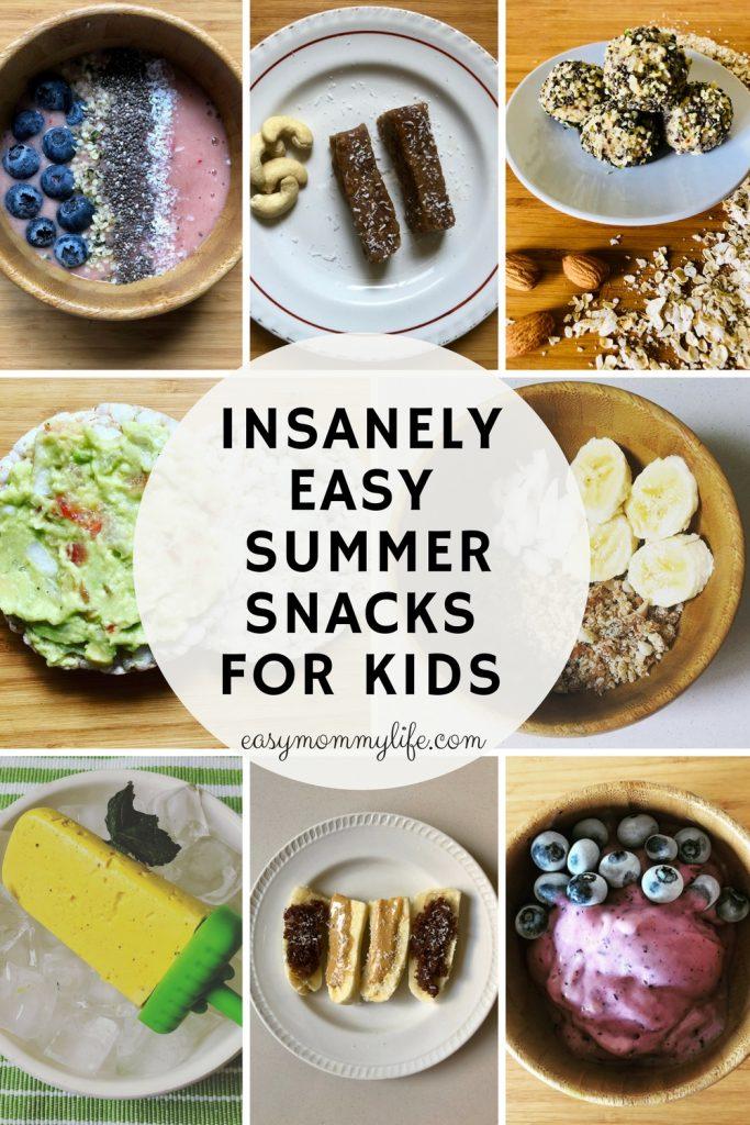 summer snacks for kids-healthy snacks for kids