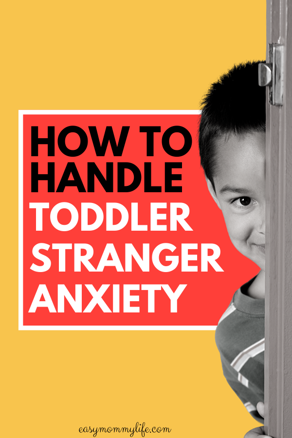 handle toddler stranger anxiety