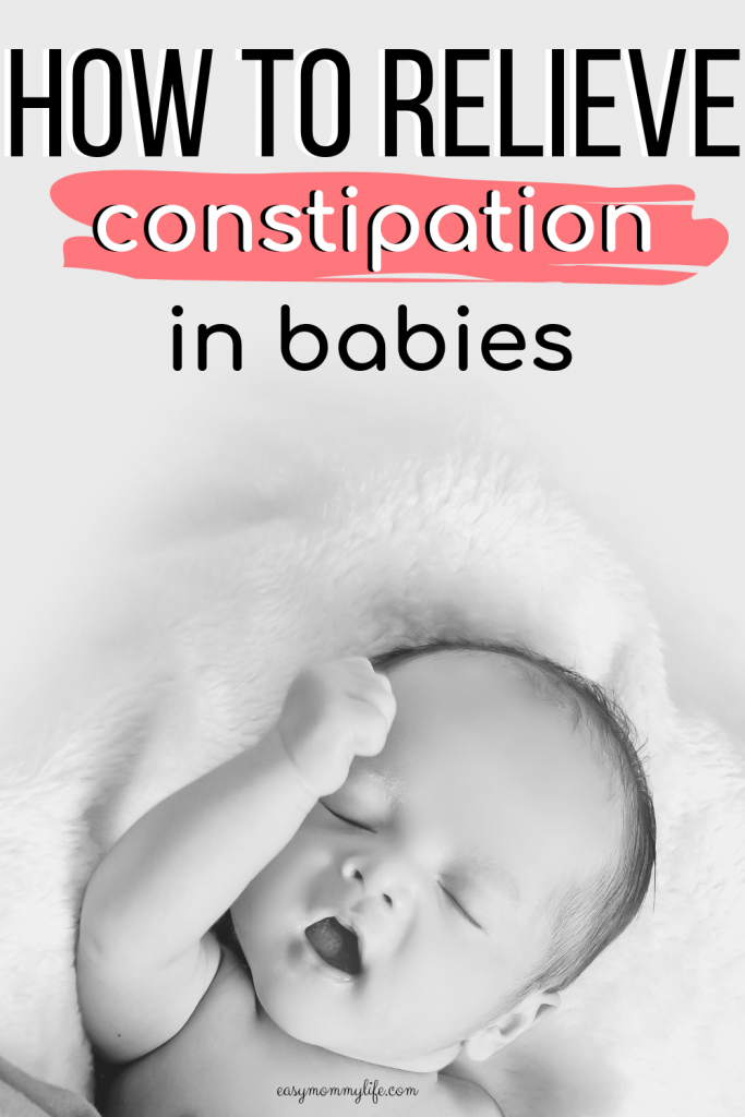 home remedies for constipation in babies-constipated baby