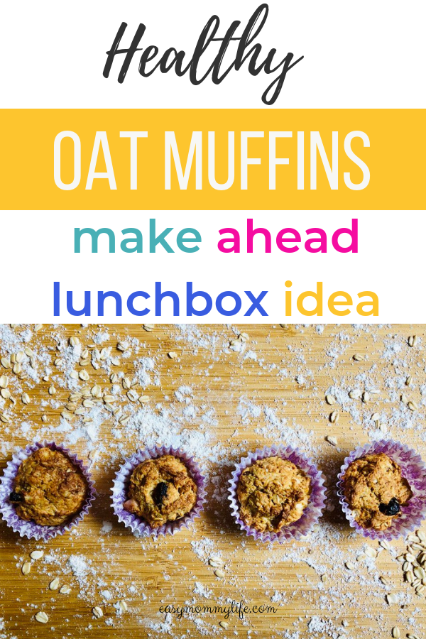 Healthy oat muffins-healthy toddler recipes