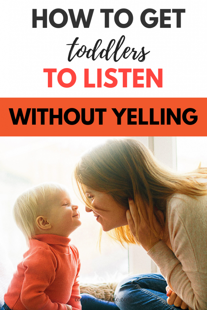 How to get your toddler to listen -positive discipline