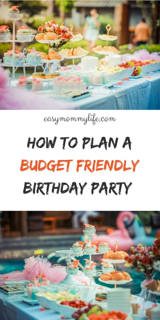 budget birthday party