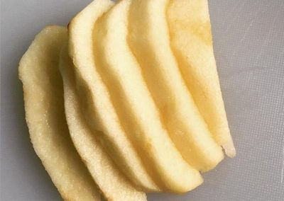 Teething foods-chilled apples