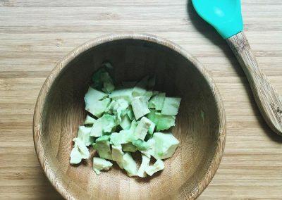 Teething foods-avocados