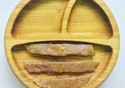 Teething foods-ragi and wheat pancake