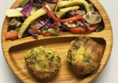 Mixed Vegetable Patty