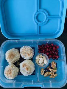 lunch box ideas - quinoa patty