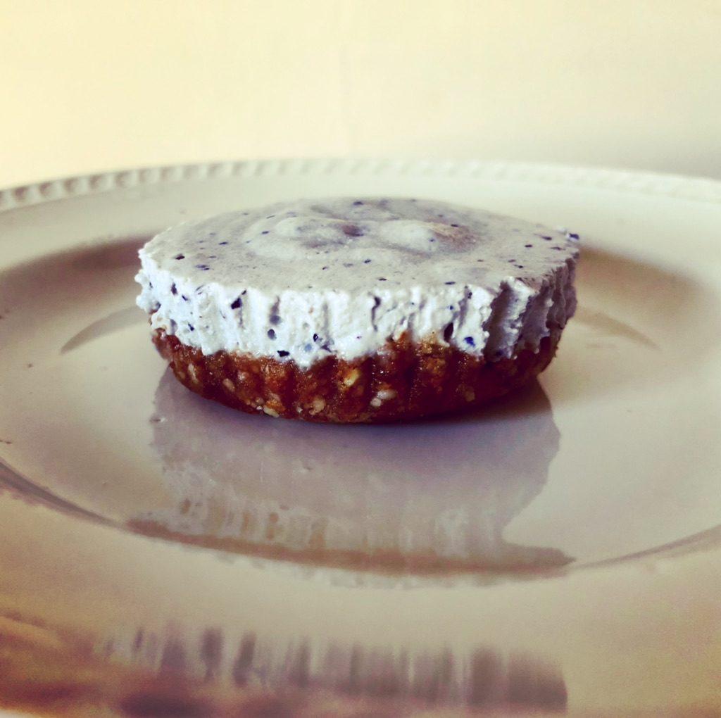 no bake vegan cheesecake cups