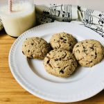 easy almond flour cookies-almond flour chocolate chip cookies