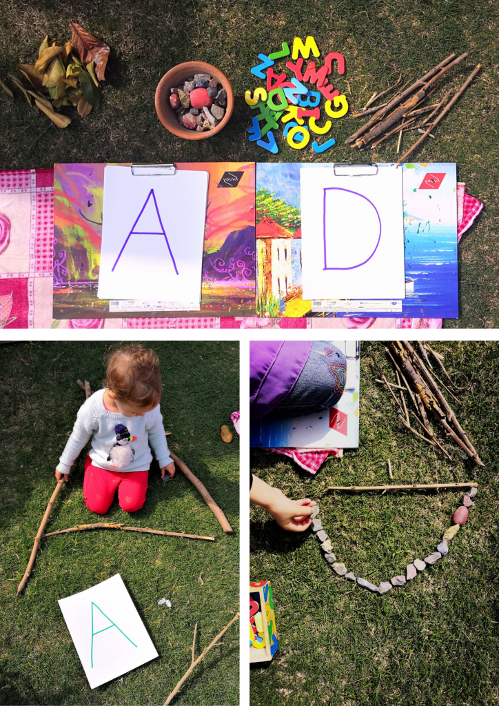 Letter and shape Activity