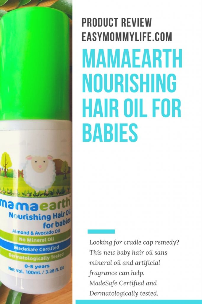 Mamaearth Baby Hair Oil Review copy