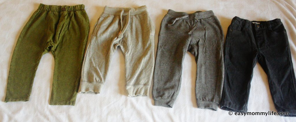 Winter capsule Wardrobe - Pants