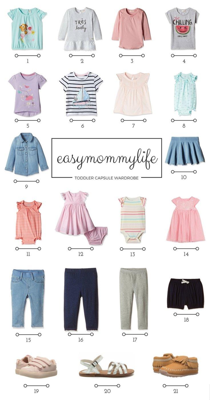 Capsule Wardrobe Toddler