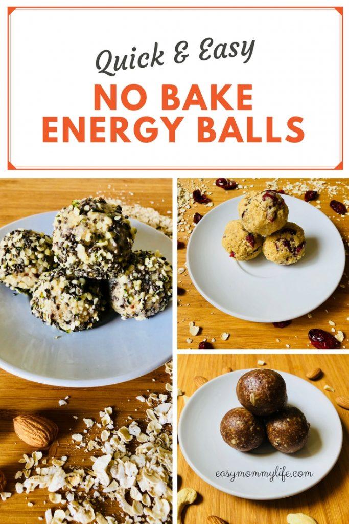 No bake energy balls- healthy snack