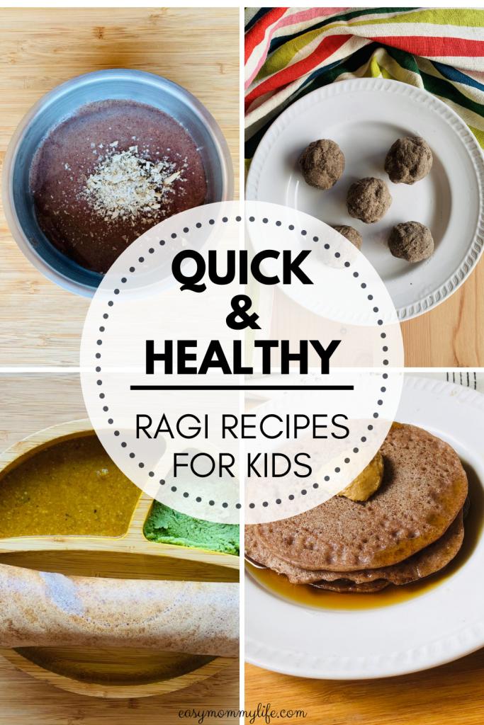 Ragi recipes for baby