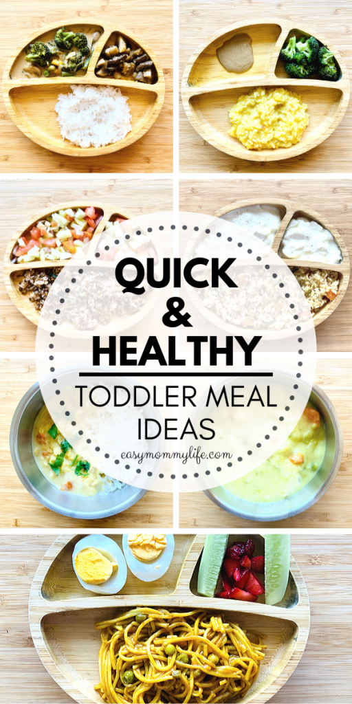 Quick and Healthy Toddler Meal Ideas