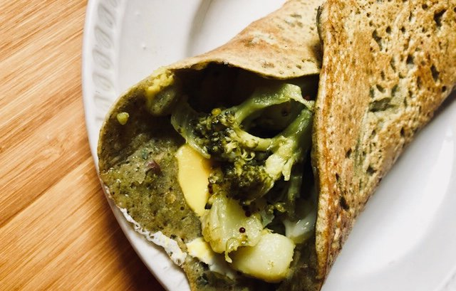 Masala Dosa Wrap Using Slurrp Farm Millet Dosa Mix