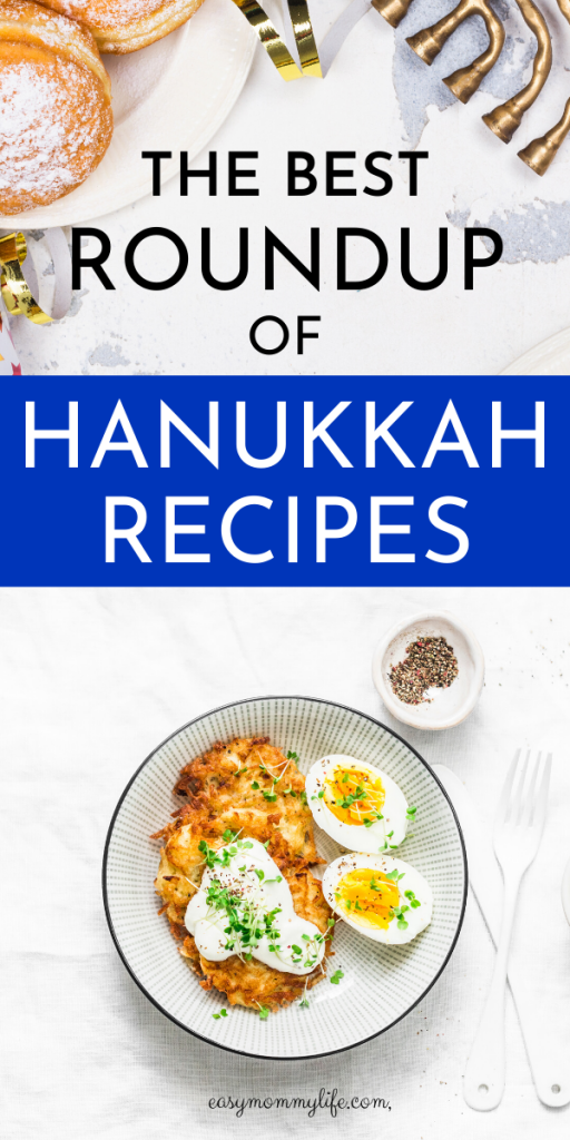 THE BEST ROUNDUP OF HANUKKAH RECIPES