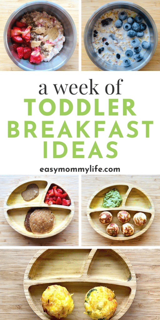 Toddler Breakfast Ideas