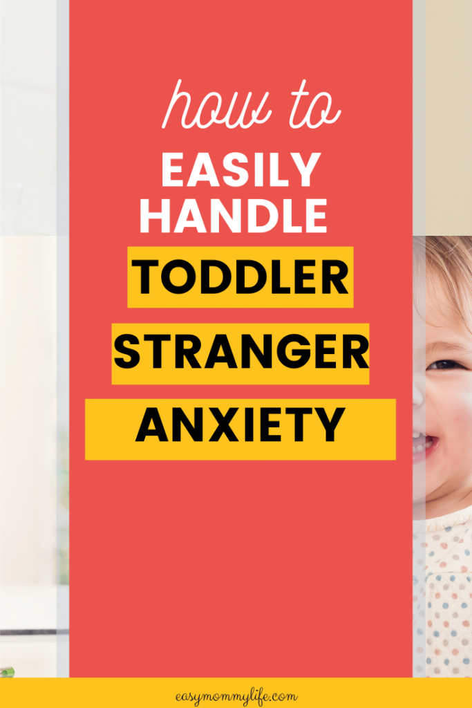 Toddler stranger anxiety