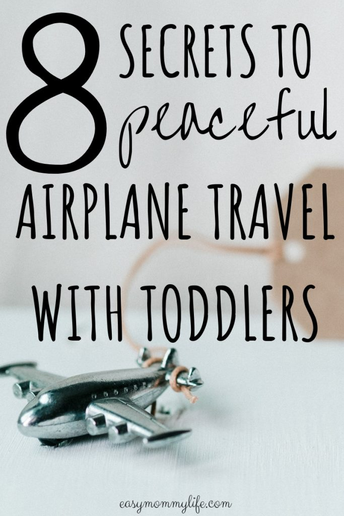 airplane travel with toddlers- traveling with a 2 year old