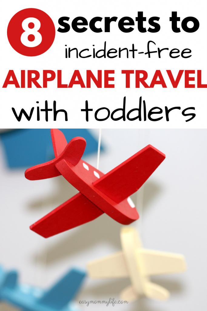 airplane travel with toddlers-family vacation tips