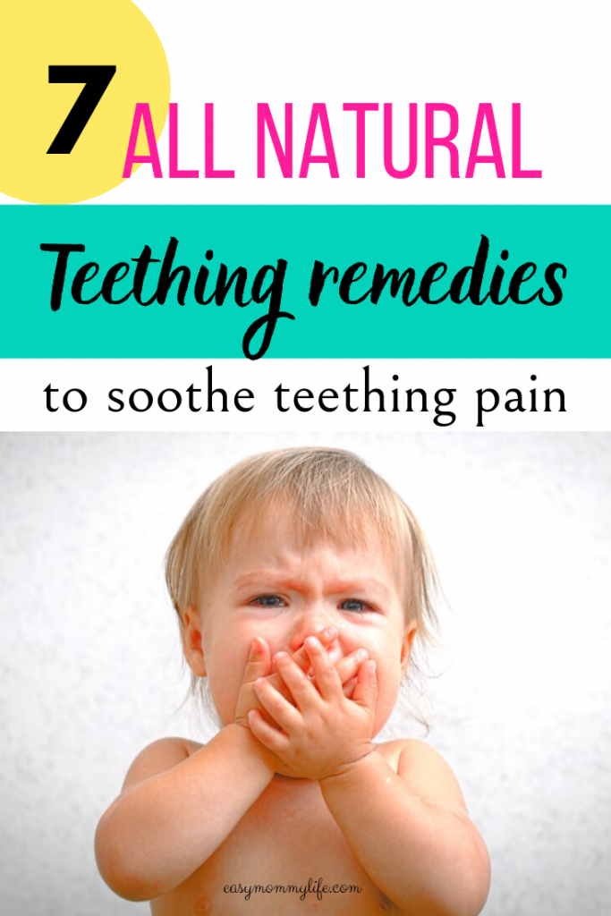 all natural teething remedies