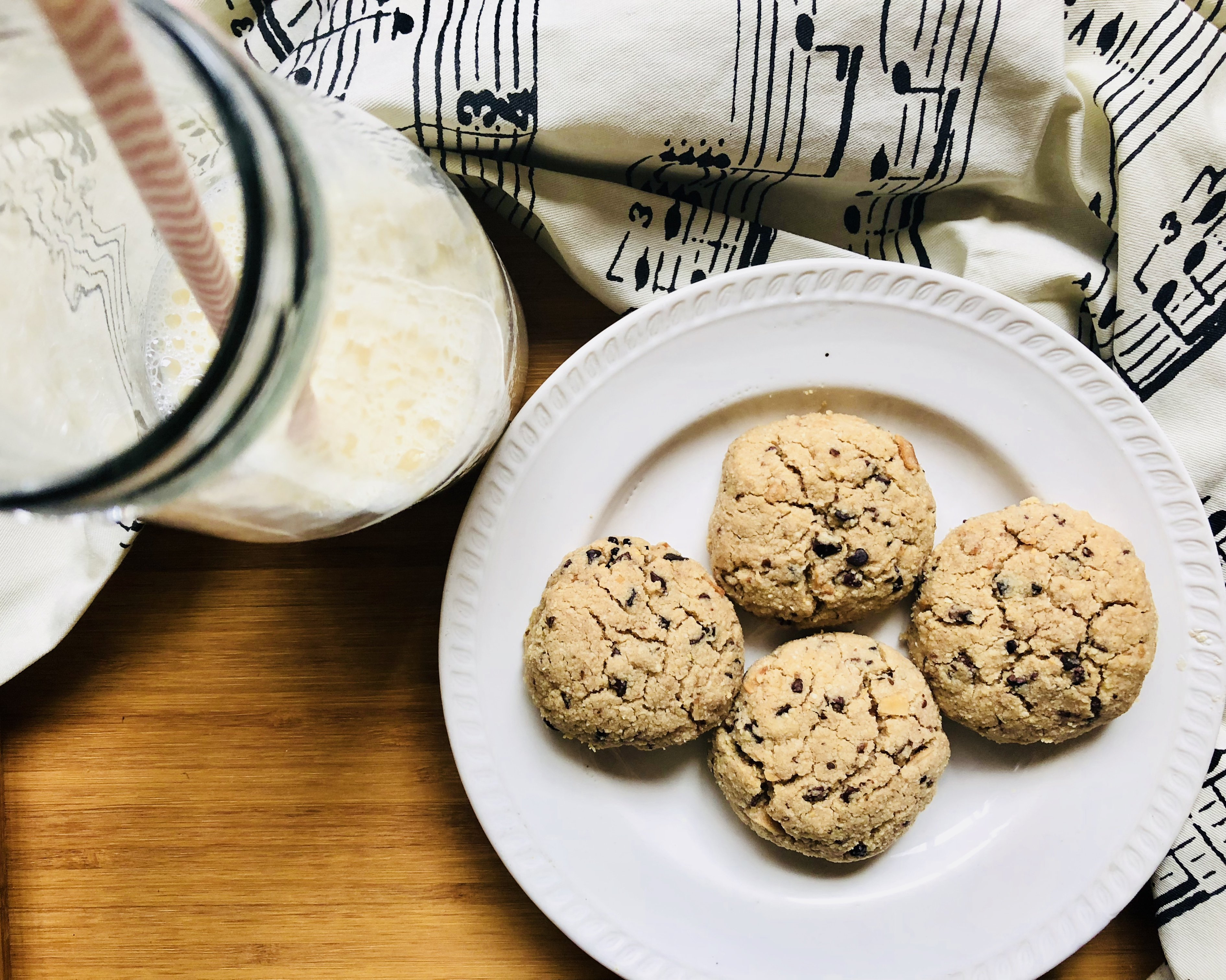 easy almond flour cookies