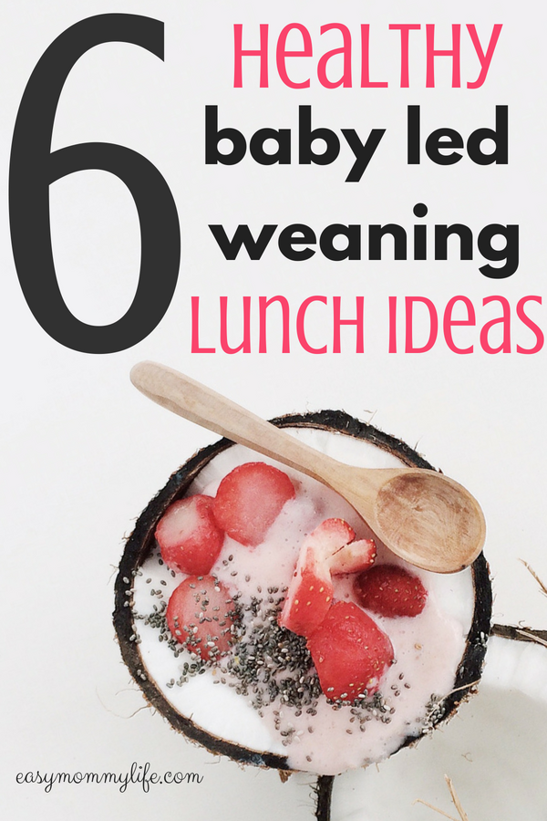 babyled weaning lunch ideas