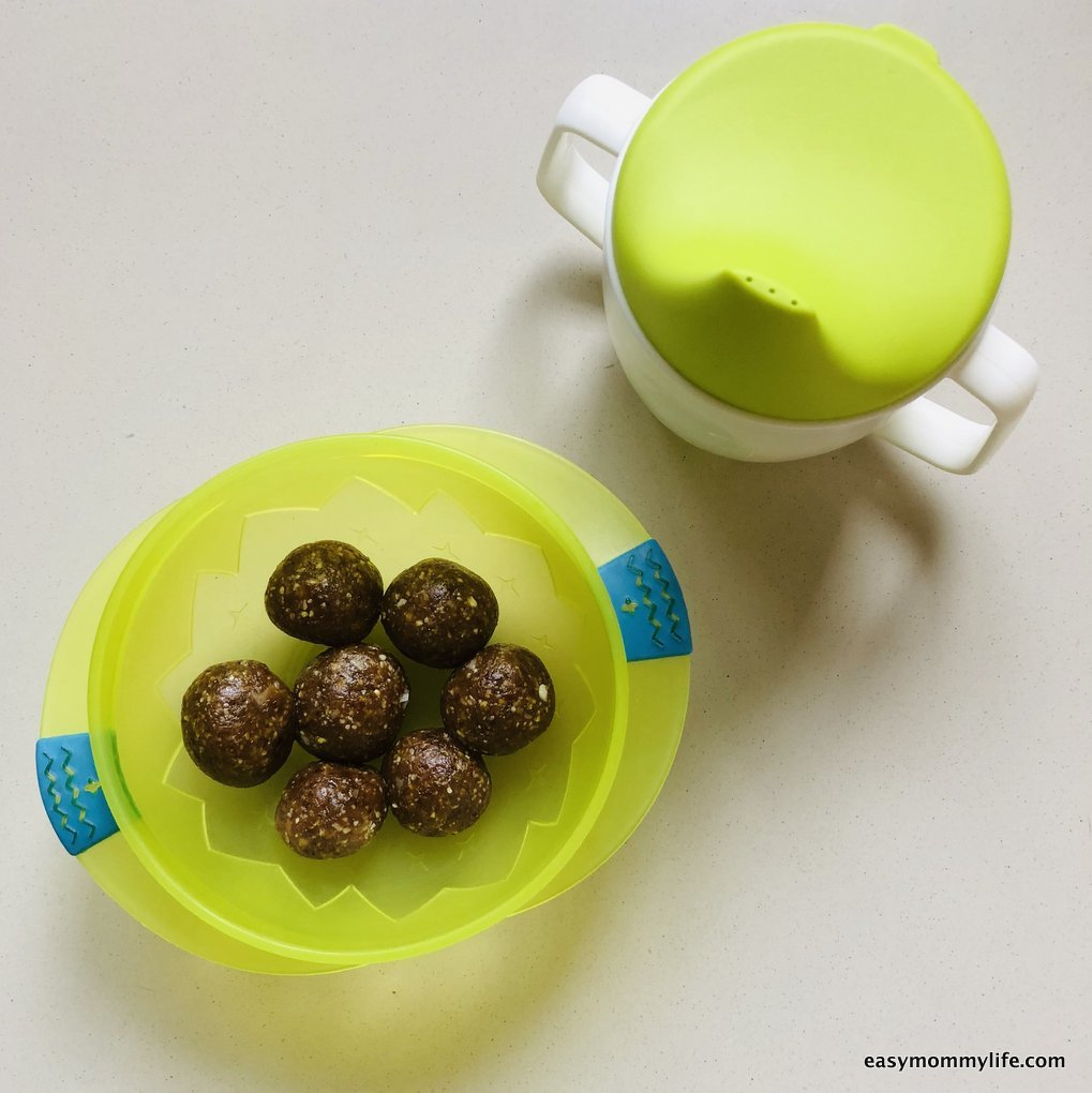 cooking with kids-energy balls