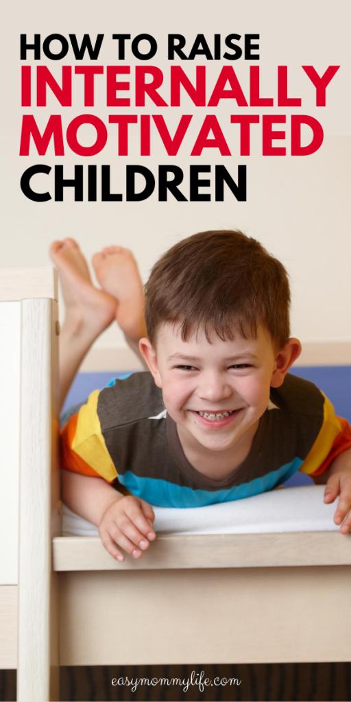 internally motivated children-intrinsic motivation