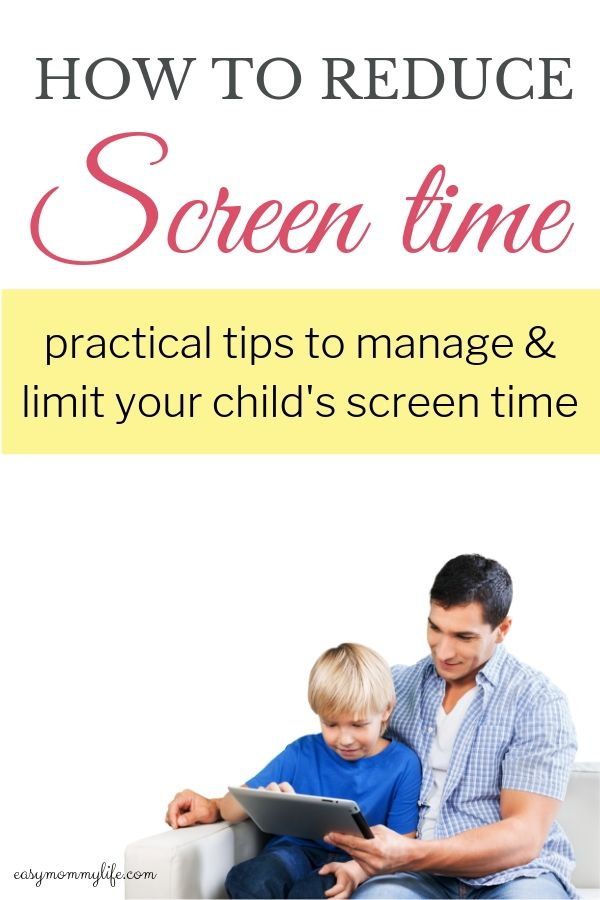 how to reduce screen time for kids and teenagers