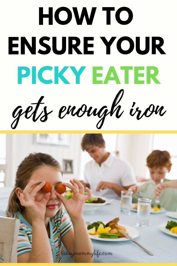 foods rich in iron for picky eaters