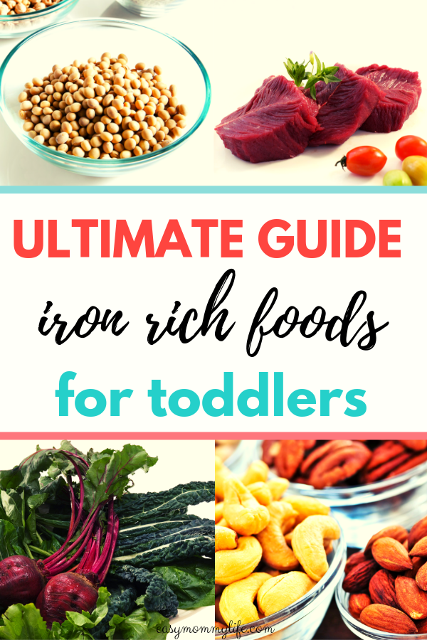 iron rich foods for toddlers-iron rich foods for toddlers list