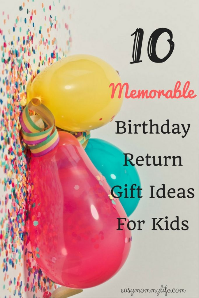 birthday return gift ideas for kids - best return gifts