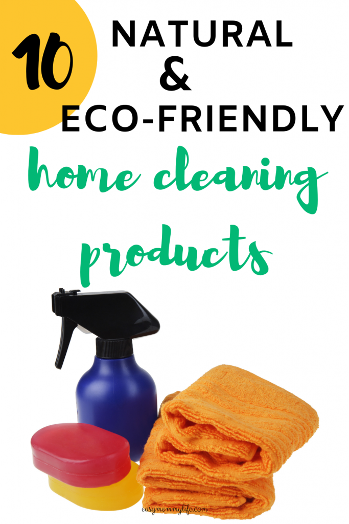 natural and eco friendly home cleaning products